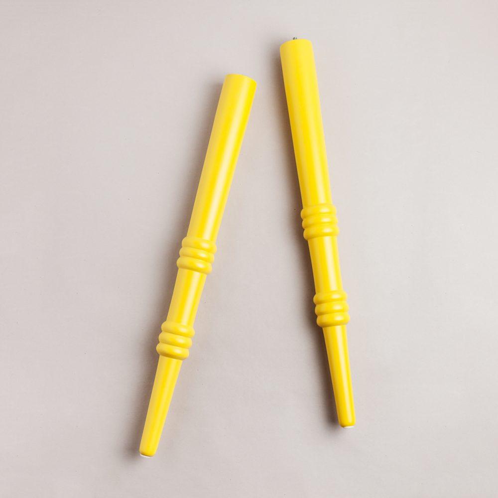 Nouvel amarillo 700 pata de madera para mesas o tableros - Patas para tableros ...