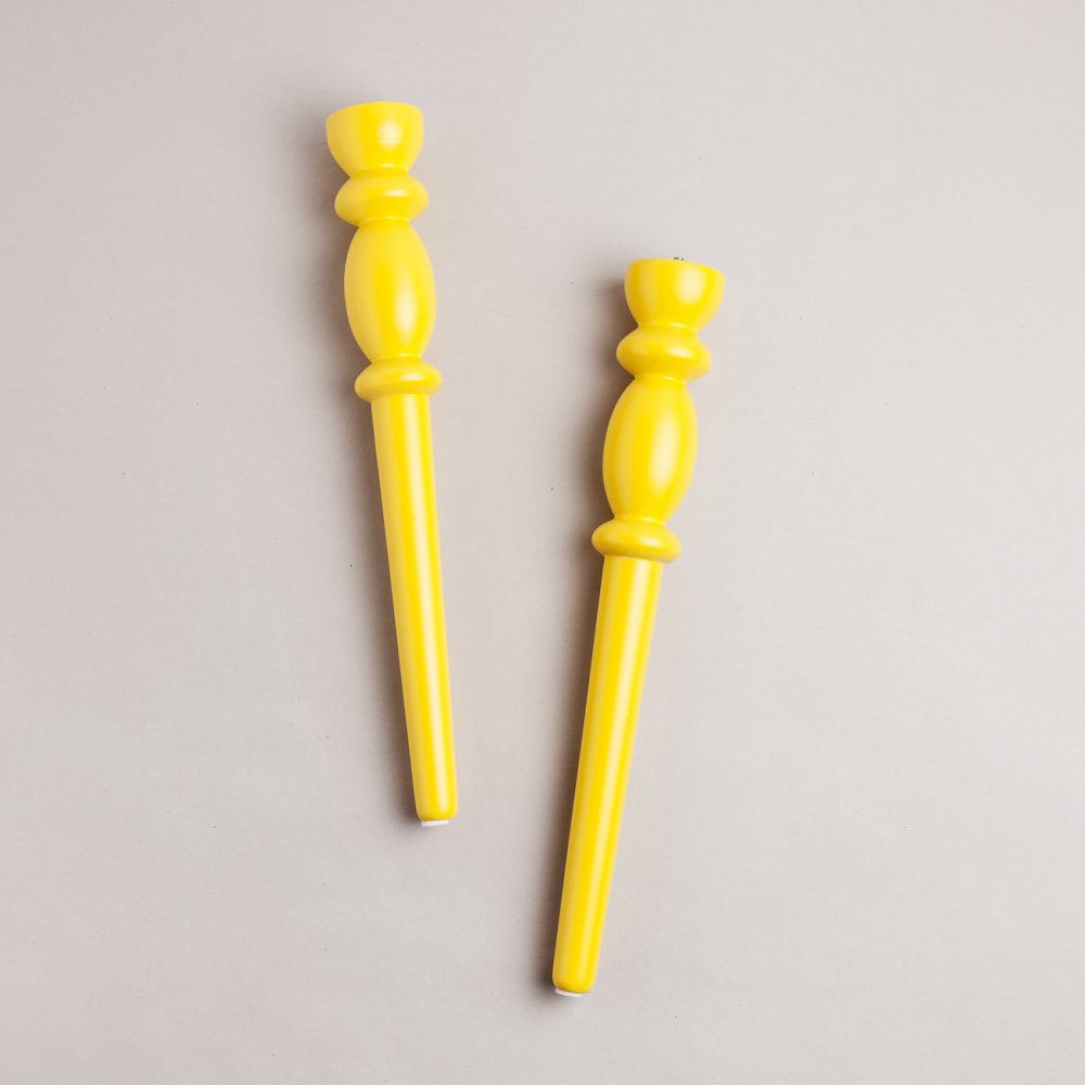 Gaudi amarillo 500 patas de madera para mesas y tableros - Patas para tableros ...
