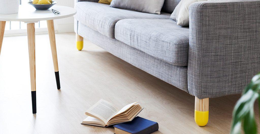 Patas de madera para muebles de ikea ikea hack sofa karlstad ohmyleg patas de madera para - Patas para muebles de madera ...