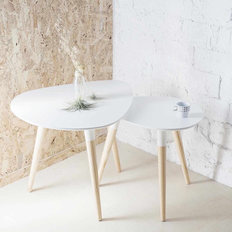 Tablero oval peque o 60x50cm tablero dm lacado en blanco for Patas para muebles ikea